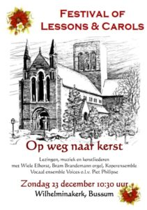 Festival of Lessons and Carols @ Wilhelminakerk Bussum | Bussum | Noord-Holland | Nederland