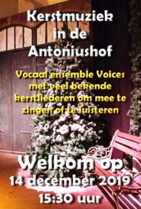 Kerstmuziek in de Antoniushof @ Wilhelminkerk